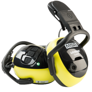 EARMUFFS MSA CUTOFF LED HELMET