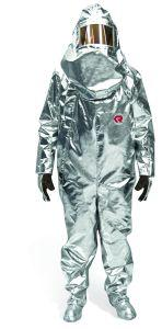 HEAT PROTECTION SUIT, TYPE R1 GLASS COMPOSITE
