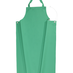 SIOEN INDUSTRIES Fombio Apron Chemflex 100cm long, Green