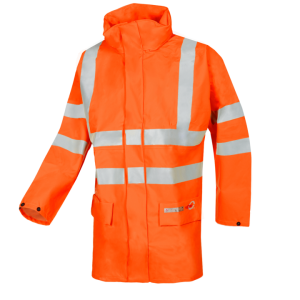 SIOEN INDUSTRIES Andilly Flame retardant, anti-static hi-vis rain jacket