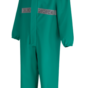 ALPHA SOLWAY CPBH – Chemsol Plus Boilersuit with Hood Green
