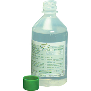 JOHNSTONE SAFETY Eyewash Solution 1 x 500ML