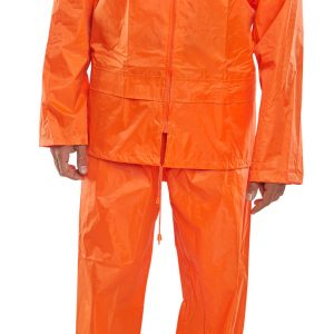 BEESWIFT NYLON B-DRI WEATHERPROOF SUIT ORANGE
