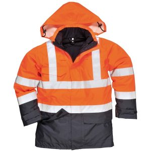 Portwest Anti-Static Bizflame Flame-Resistant Rain