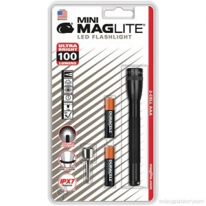 MAGLITE (LED). MAGLITE SP32016E 2xAAA LED torch