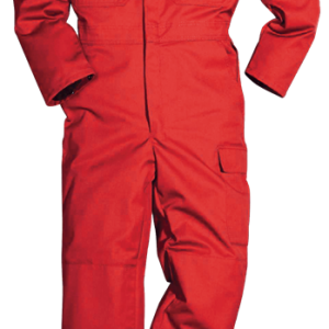 Red F.R 350gr Insulated Coverall